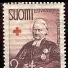 Sellos: SELLO USADO DE FINLANDIA 1938, YT 198. Lote 262028815
