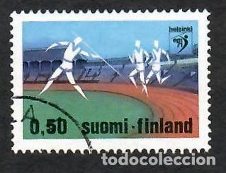 LIQUIDACIÓN. FINLANDIA 1971, YVERT 660. CAMPEONATO EUROPA ATLETISMO. DEPORTES. (Sellos - Extranjero - Europa - Finlandia)