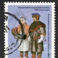 Sellos: LIQUIDACIÓN. FINLANDIA 1972, YVERT 678. TRAJES NACIONALES, S. XIX. HISTORIA DEL VESTIDO. FOLKLORE.. Lote 264189576
