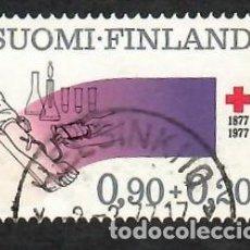 Sellos: LIQUIDACIÓN. FINLANDIA 1977, YVERT 765. CRUZ ROJA / RED CROSS. SANIDAD. SALUD,. Lote 264202256