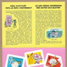 Sellos: FINLANDIA 2020 CARNET AUTOADHESIVOS TATU & PATU LIBROS INFANTILES - NUEVO MNH. Lote 264504609