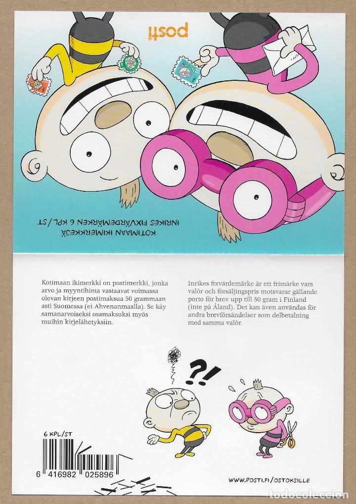 Sellos: Finlandia 2020 carnet autoadhesivos Tatu & Patu libros infantiles - Nuevo MNH - Foto 2 - 264504609
