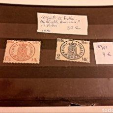 Sellos: SELLOS FINLANDIA 1935 NUEVOS. Lote 265350009
