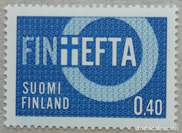 1967. FINLANDIA. 589. ASOCIACIÓN EUROPEA DE LIBRE CAMBIO (EFTA). SERIE COMPLETA. NUEVO. (Sellos - Extranjero - Europa - Finlandia)