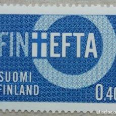 Sellos: 1967. FINLANDIA. 589. ASOCIACIÓN EUROPEA DE LIBRE CAMBIO (EFTA). SERIE COMPLETA. NUEVO.. Lote 265428819