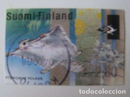 SELLO USADO DE DISTRIBUCION DE FINLANDIA 1998, YT 24 (Sellos - Extranjero - Europa - Finlandia)