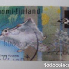 Sellos: SELLO USADO DE DISTRIBUCION DE FINLANDIA 1998, YT 24. Lote 266640373