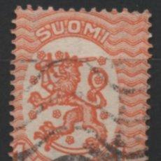 Sellos: FINLANDIA 1925 BLAZON USADO * LEER DESCRIPCION. Lote 270346883