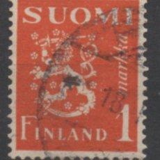 Sellos: FINLANDIA 1930 BLAZON USADO * LEER DESCRIPCION. Lote 270346978