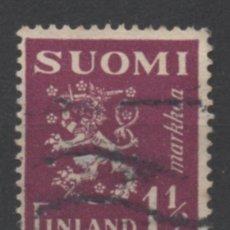 Sellos: FINLANDIA 1930 BLAZON USADO * LEER DESCRIPCION. Lote 270347018