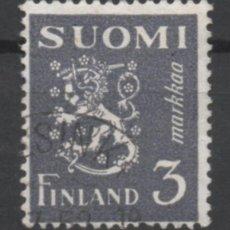 Sellos: FINLANDIA 1947 BLAZON USADO * LEER DESCRIPCION. Lote 270347368