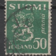 Sellos: FINLANDIA 1932 BLAZON USADO * LEER DESCRIPCION. Lote 270347723