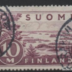Sellos: FINLANDIA 1930 LAGO SAIMAA USADO * LEER DESCRIPCION. Lote 270347818