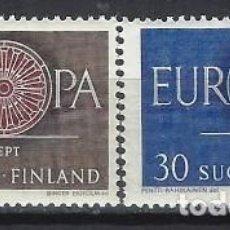 Sellos: FINLANDIA 1960 - EUROPA, S.COMPLETA - MNH**. Lote 272132418