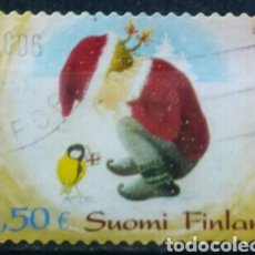 Sellos: FINLANDIA 2006 NAVIDAD SELLO USADO. Lote 272494288