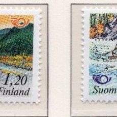 Sellos: FINLANDIA, 1983, STAMP , MICHEL 922-923. Lote 274819093