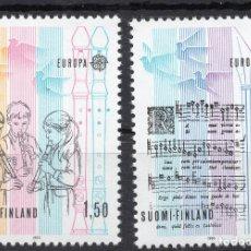 Sellos: FINLANDIA, 1983, STAMP , MICHEL 968-969. Lote 274819208
