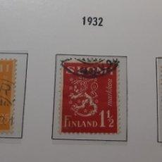 Sellos: SELLOS ANTIGUOS DE FINLANDIA.AÑO 1932.33. Lote 276985428