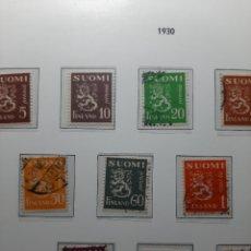 Sellos: SELLOS ANTIGUOS DE FINLANDIA.AÑO 1930.. Lote 276985628