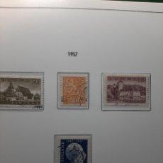 Sellos: SELLOS ANTIGUOS DE FINLANDIA. AÑO 1957.. Lote 276985888