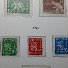 Sellos: SELLOS ANTIGUOS AÑO 1951-2FINLANDIA.. Lote 276987983