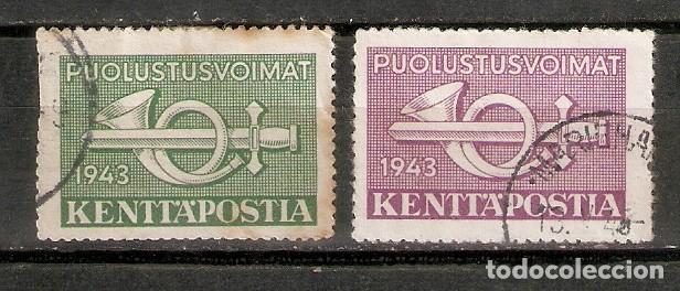 FINLANDIA.1943. MILITARES (Sellos - Extranjero - Europa - Finlandia)