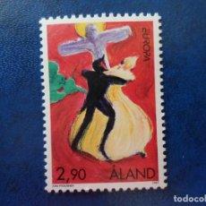 Sellos: -ISLAS ALAND, FINLANDIA,1997, EUROPA, YVERT 128. Lote 278756688