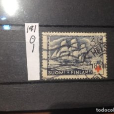 Sellos: SELLOS DE FINLANDIA. USADOS. YVERT Nº 191. Lote 285083663