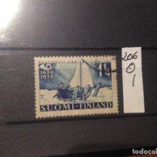 Sellos: SELLOS DE FINLANDIA. USADOS. YVERT Nº 206. Lote 285084093