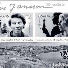 Sellos: CARNET** DE FINLANDIA 2014, YT 2266/ 67. Lote 285431288
