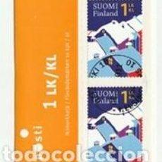 Sellos: CARNET USADO DE FINLANDIA 2011, YT 2100, FOTO ORIGINAL. Lote 286868978