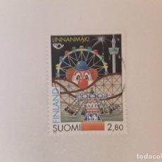 Sellos: AÑO 1995 FINLANDIA SELLO USADO. Lote 286937618