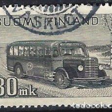 Sellos: FINLANDIA 1946-47 - TRANSPORTE POSTAL - USADO. Lote 288897863