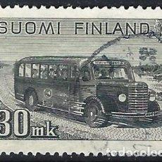 Sellos: FINLANDIA 1946-47 - TRANSPORTE POSTAL - USADO. Lote 288897898