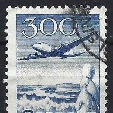 Sellos: FINLANDIA 1958 - CORREO AÉREO, TIPO DE 1950 PERO SIN MK - USADO. Lote 288899573