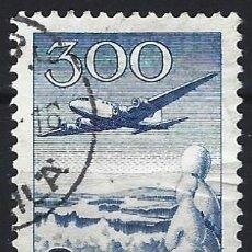 Sellos: FINLANDIA 1958 - CORREO AÉREO, TIPO DE 1950 PERO SIN MK - USADO. Lote 288899603
