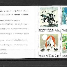 Sellos: FINLANDIA 1992, CARNET C-1156 EXPO NORDIA. MNH.. Lote 288907343