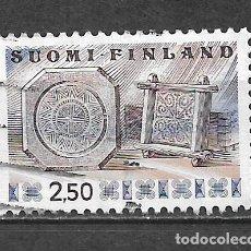 Sellos: FINLANDIA SELLO USADO - 8/28. Lote 292086063