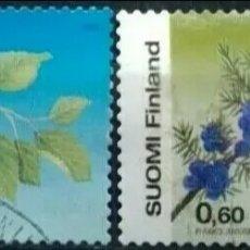Sellos: FINLANDIA 2002 FLORES SERIE DE SELLOS USADOS. Lote 295000303