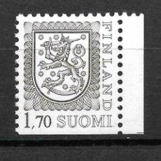 Sellos: FINLANDIA 1987, CORREO MICHEL 1008 II DDX. MNH.. Lote 296587438