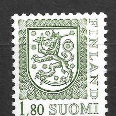 Sellos: FINLANDIA 1988, CORREO MICHEL 1035 II AX. MNH,. Lote 296591683