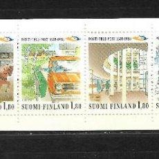 Sellos: FINLANDIA 1988, IVERT 1023/28 CARNET. MNH.. Lote 296610058