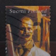 Sellos: FINLANDIA 2006 CELEBRIDADES SELLO USADO. Lote 296763908