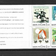 Sellos: FINLANDIA 1992 IVERT C1156, CARNET EXPO NORDIA. MNH,. Lote 296785128