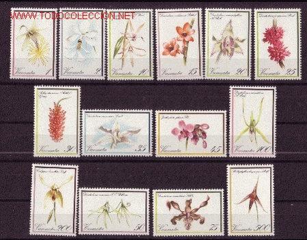 VANUATU 643/56** - AÑO 1982 - FLORA - FLORES - ORQUÍDEAS (Sellos - Temáticas - Flora)