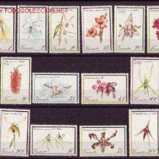 Sellos: VANUATU 643/56** - AÑO 1982 - FLORA - FLORES - ORQUÍDEAS. Lote 23542842