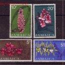 Sellos: JAMAICA 383/86** - AÑO 1973 - FLORA - FLORES - ORQUIDEAS. Lote 21808597