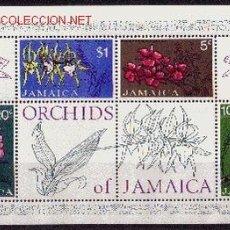 Sellos: JAMAICA HB 4*** - AÑO 1973 - FLORA - FLORES - ORQUIDEAS. Lote 177433928