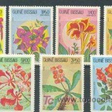 Sellos: GUINEA BISSAU 1983 FLORA FLORES TIPICAS 7 SELLOS. Lote 24841182
