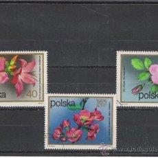 Sellos: POLONIA TEMA FLORA . Lote 9545640